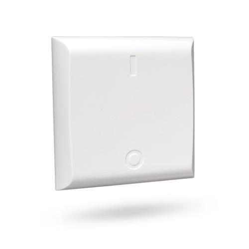 Bezdrátový vestavný spínač, jakož i bezdrátový nástěnný spínač jsou vhodné tlačítka na bezdrátovém spínači připojený spotřebič zapnete (LED na spínači.