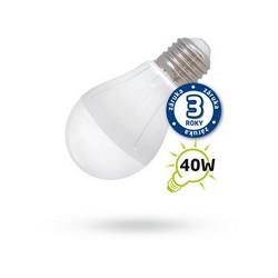 Úsporná LED žárovka A55 E27/230V 5W bílá teplá
