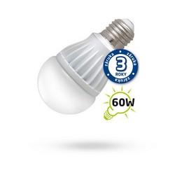 Úsporná LED žárovka A60 E27/230V 10W bílá teplá