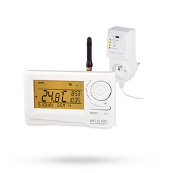 Autonomní bezdrátový digitální termostat BPT32 GST s GSM modulem