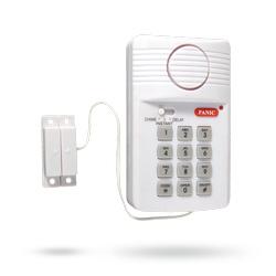 Alarm na vstupní dveře a sklepní kóje Codeman