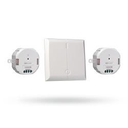 Set dvou bezdrátových modulů s vypínačem pro ovládání světel v systému DIO