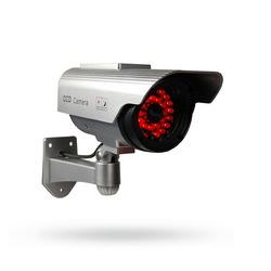 Venkovní atrapa bezpečnostní kamery Dummy Solar IR s infrapřísvitem