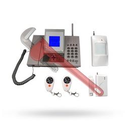 Konfigurovatelný bezdrátový GSM Alarm IG LCD