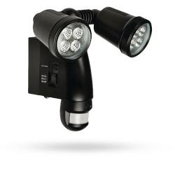 Venkovní lampa s integrovanou kamerou a pohybovým čidlem
