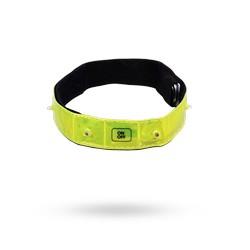 Reflexní bezpečnostní svítící pásek 4 LED