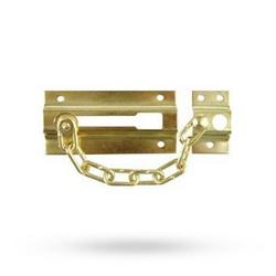 Bezpečnostní řetízek na vchodové dveře zlatý