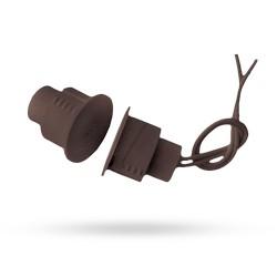 Magnetický kontakt SD 70 hnědý závrtný