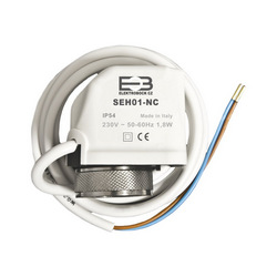 Termoelektrický pohon SEH01-NC 230V typ NC