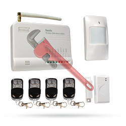 Konfigurovatelný bezdrátový GSM Alarm Evolveo Sonix