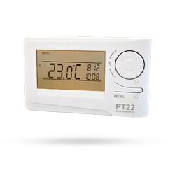 Prostorový termostat PT22 s velkým displejem