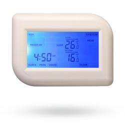 Pokojový termostat s dotekovým TE012T