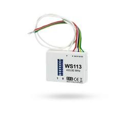 Univerzální zvonkový vysílač pod vypínač WS113